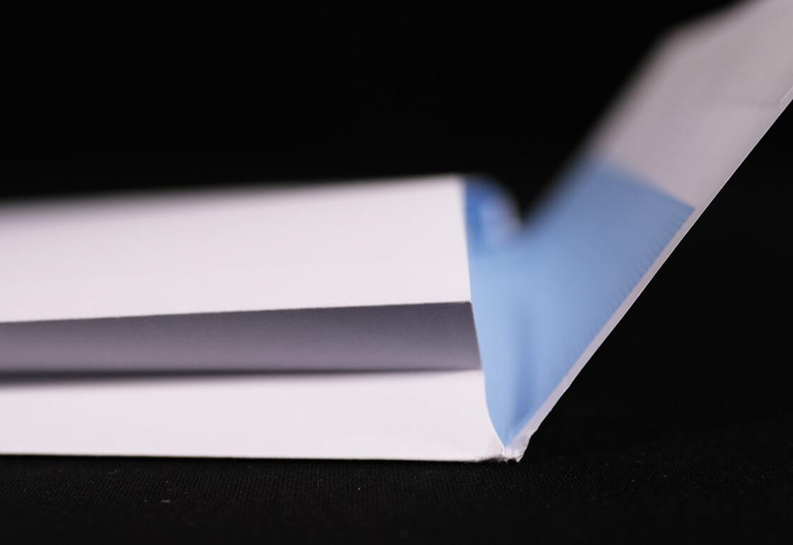 Gusset Envelope Side